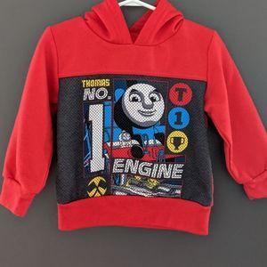 Thomas & Friends Thomas the Train red hoodie